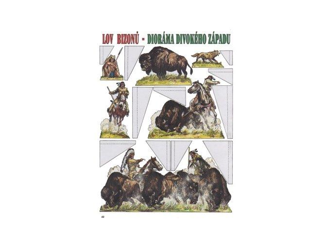 Lov bizonů