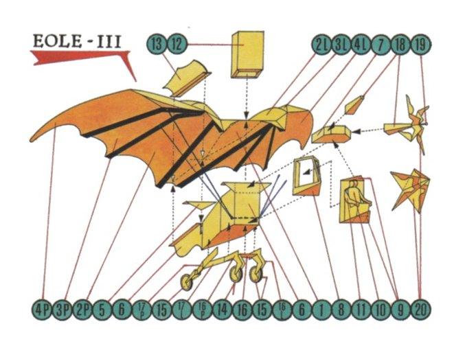 letadélko Eole III