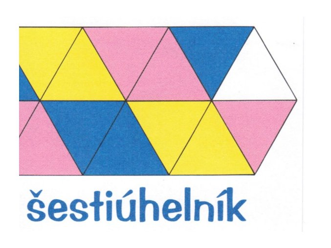 skládaný šestiúhelník