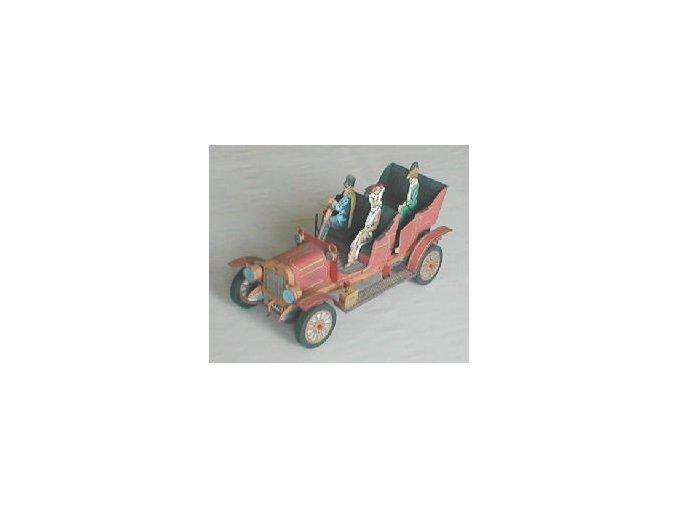 Laurin a Klement E 1907 + figurky