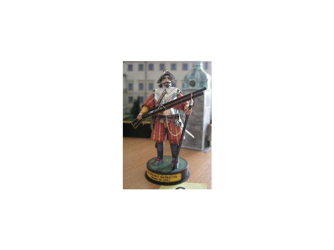španělský mušketýr (konec 16.stol.)