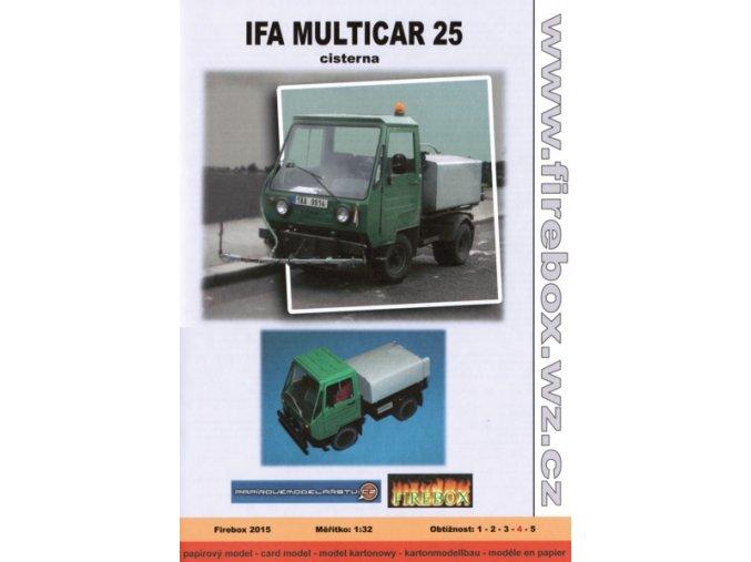 Ifa Multicar 25 - cisterna