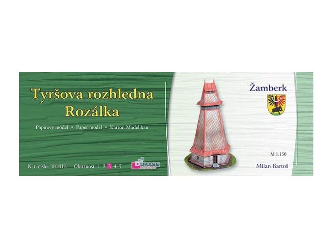 Žamberk - Rozálka - Tyršova rozhledna