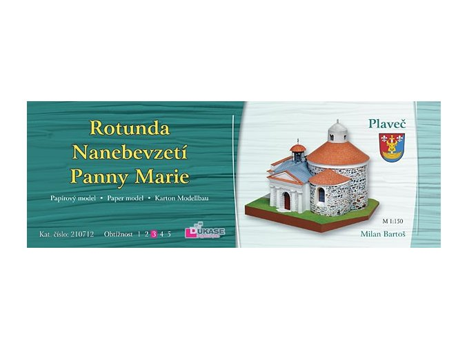 Plaveč - rotunda Nanebevzetí Panny Marie