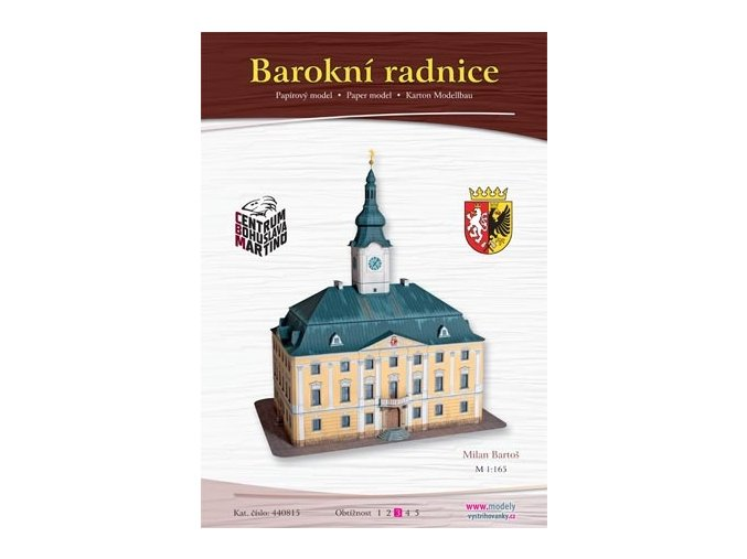 Polička - barokní radnice