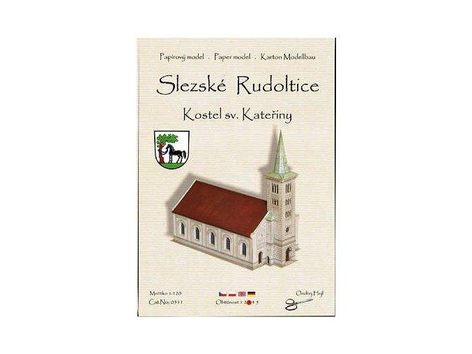 Slezské Rudoltice - kostel sv. Kateřiny
