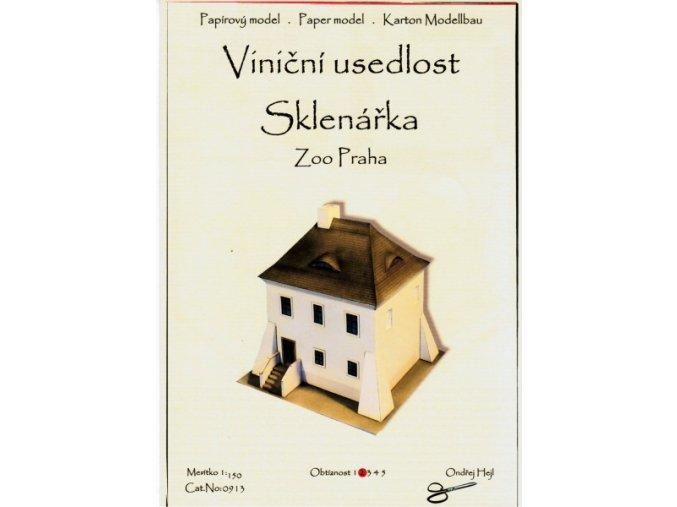 viniční usedlost Sklenářka