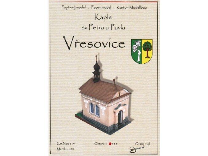 Vřesovice - Kaple sv. Petra a Pavla