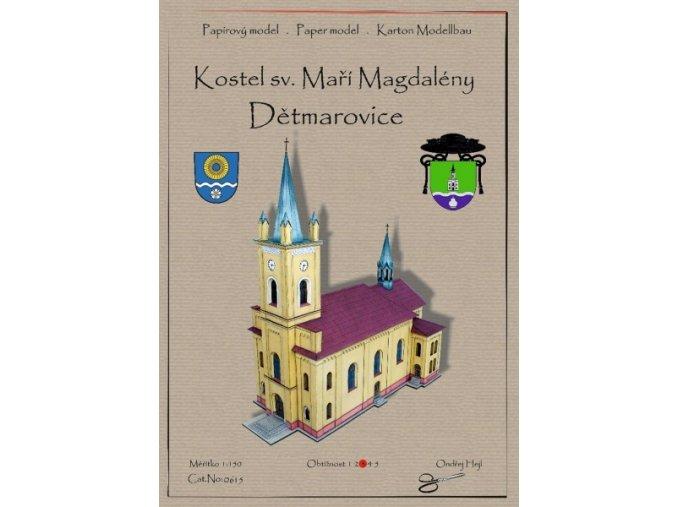 Dětmarovice - kostel sv. Maří Magdalény