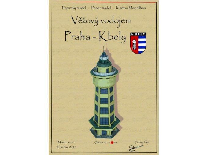 Věžový vodojem - Praha-Kbely
