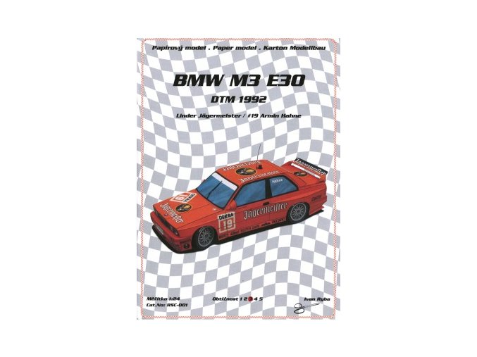 BMW M3 E30 DTM 1992