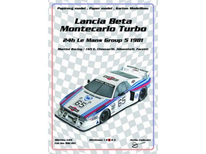 Lancia Beta Monte Carlo Turbo [65] - 24h Le Mans Group 5 1981