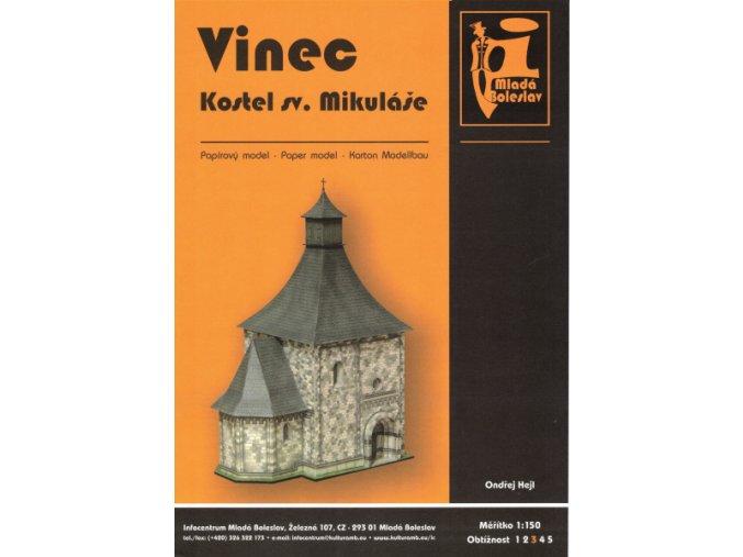 Vinec - Kostel sv. Mikuláše