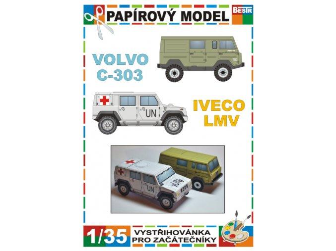 Iveco LMV + Volvo C-303