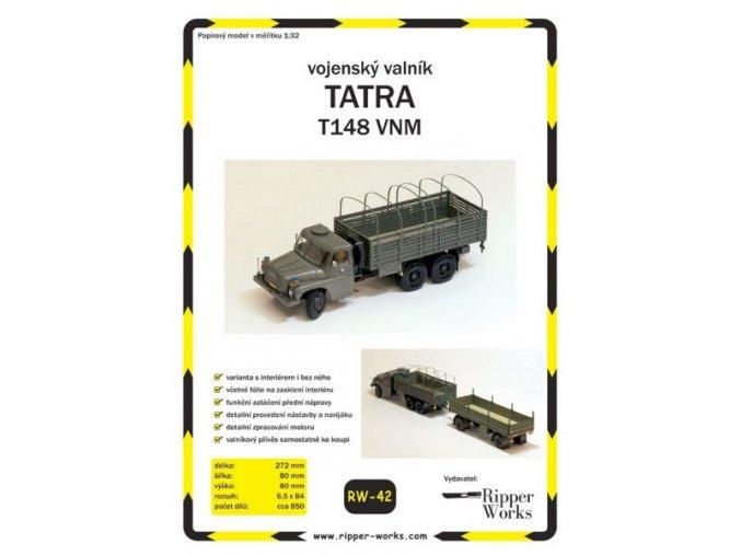 Tatra 148 VNM - vojenský valník