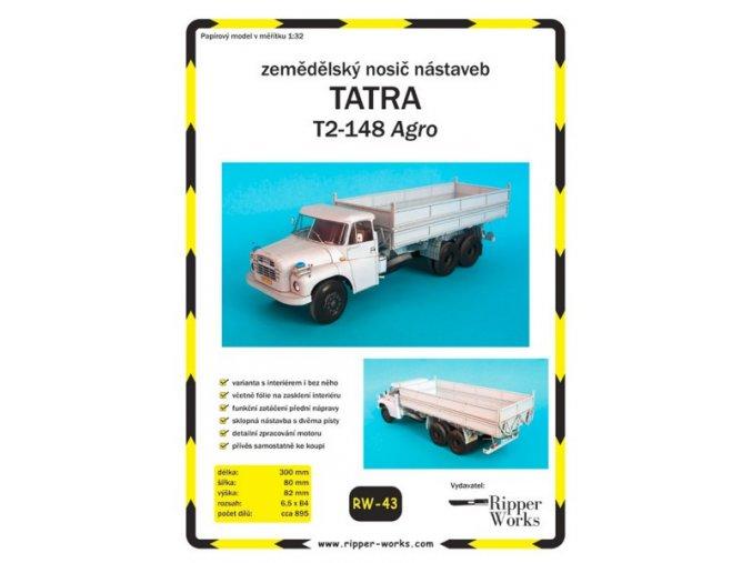 Tatra T2-148 Agro - zemědělský nosič nástaveb