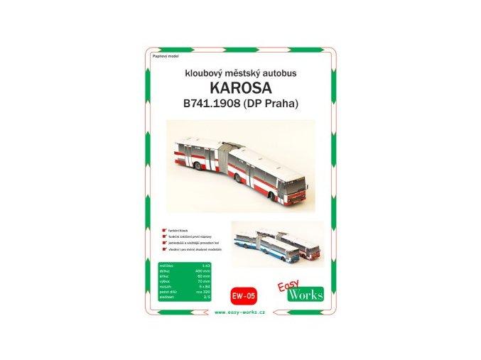 Karosa B741.1908 - DP Praha (červená)