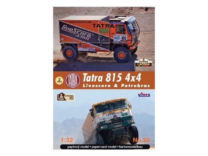 Tatra T815 4x4 Livescore a Petrobras [400] [513]