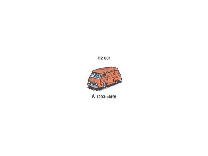 Škoda 1203 - skříň (4ks)
