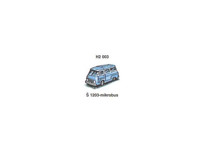 Škoda 1203 - mikrobus (4ks)