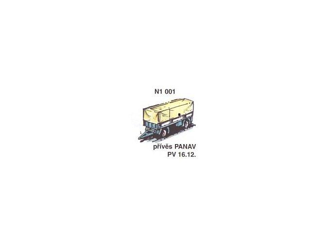 Přívěs PANAV PV 16.12 (2ks)