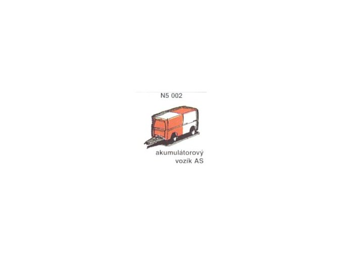Akumulátorový vozík AS (6ks)