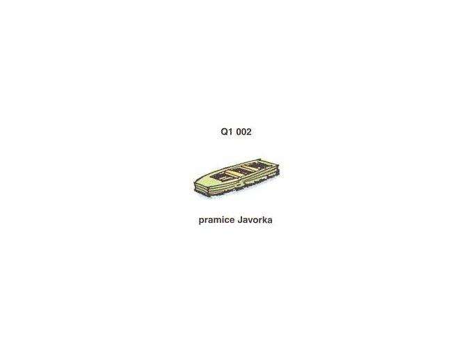 Pramice Javorka (4ks)