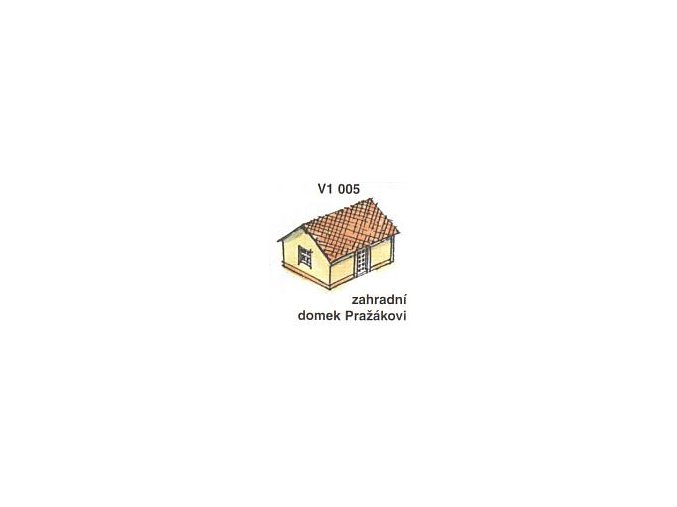 Zahradní domek Pražákovi (2ks)