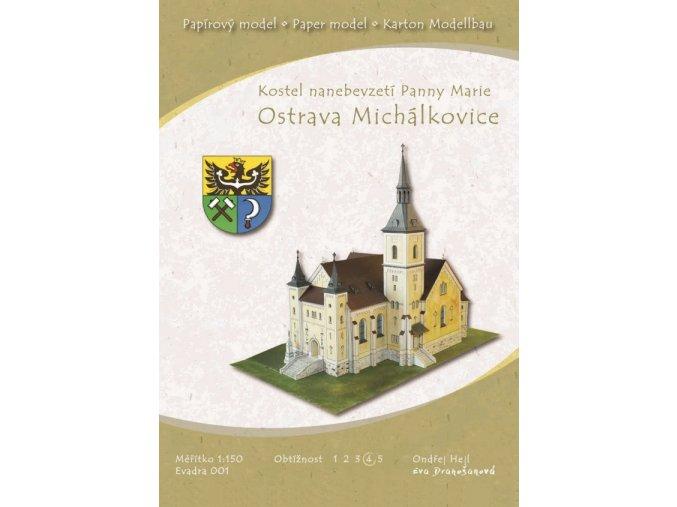 Ostrava-Michálkovice - kostel nanebevzetí Panny Marie