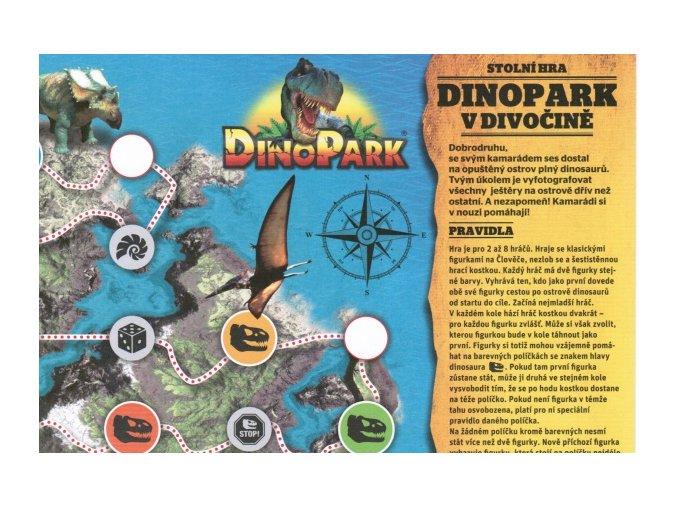 Dinopark v divočině