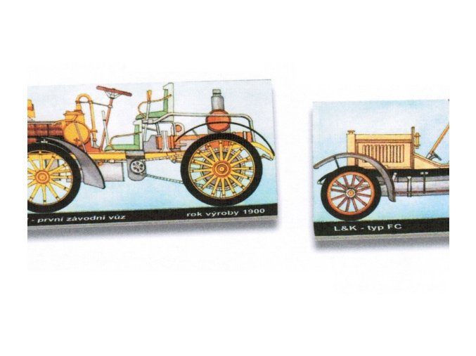 Laurin & Klement typ FC - 1908, NW první závodní vůz - 1900