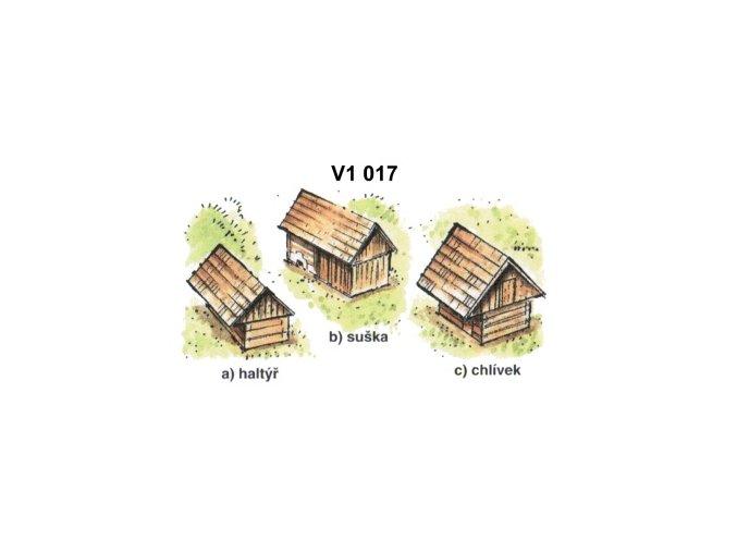 Drobné stavby, sada 1