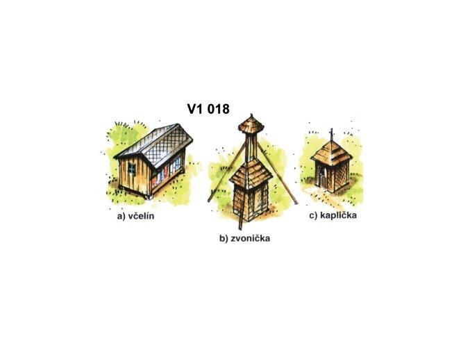Drobné stavby, sada 2