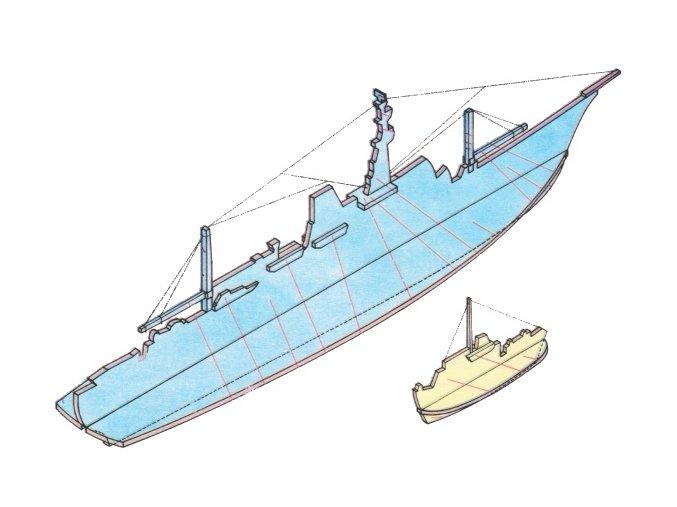 výzkumná loď Pionýr a remorkér