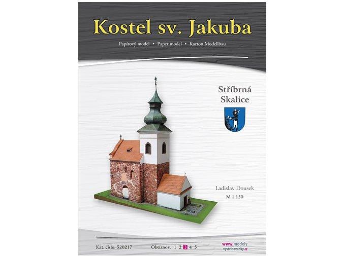Stříbrná Skalice - kostel sv. Jakuba