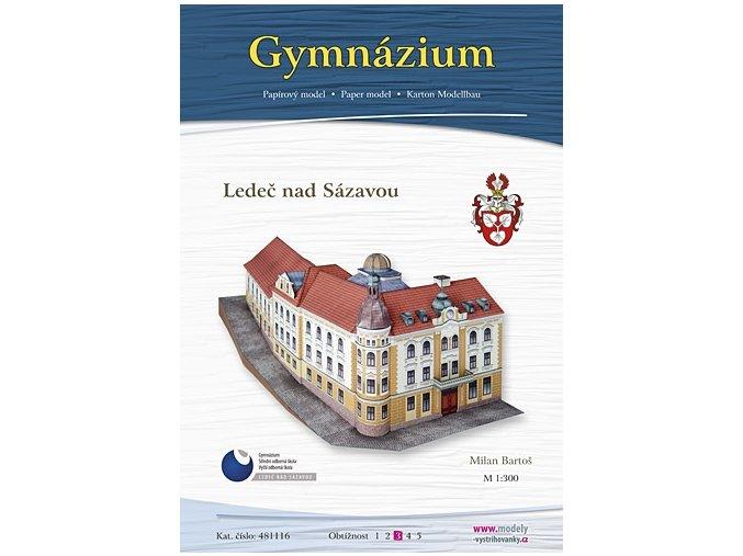 Ledeč nad Sázavou - gymnázium