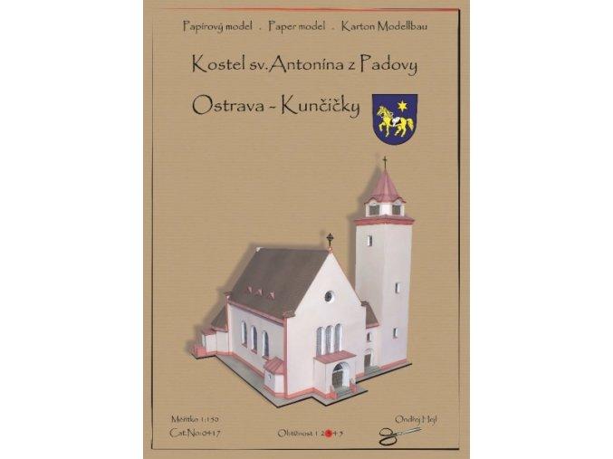 Kostel s. Antonína z Padovy - Ostrava-Kunčičky