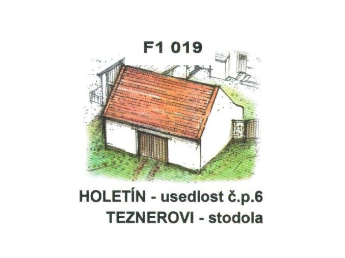 Holetín - usedlost čp. 6 Teznerovi - stodola