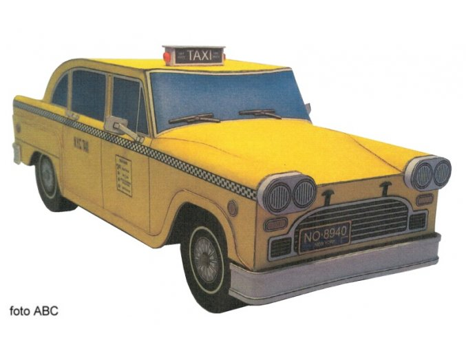 Checker Taxi Cab - taxi New York