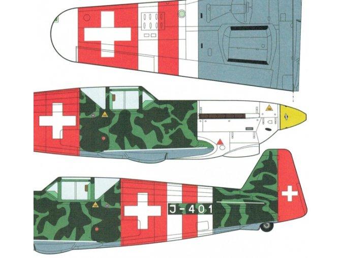 Doflug D3802 J-401 prototyp