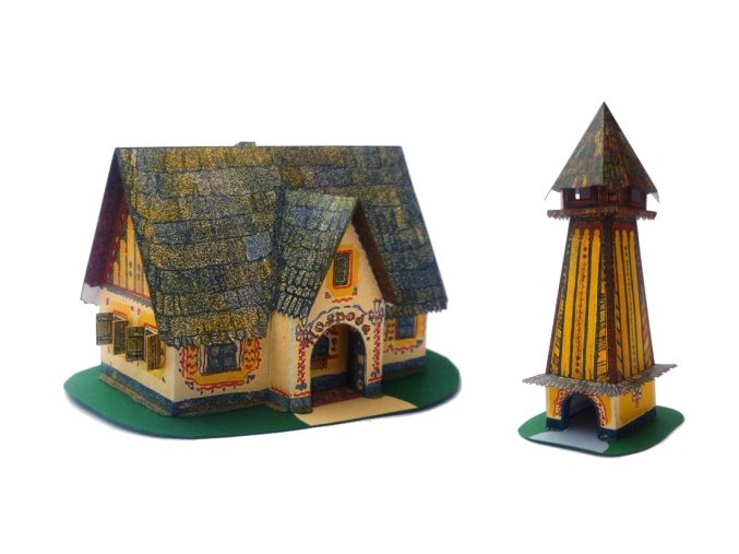 Hospoda a zvonice