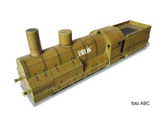 Orlík - legionářský vlak