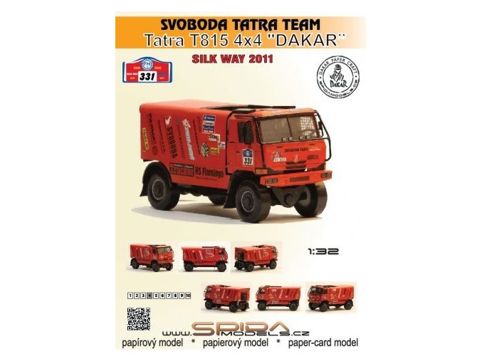 "Tatra 815 4x4 ""Dakar"" - Svoboda Tatra Team - Silk Way Rally 2011 [331]"