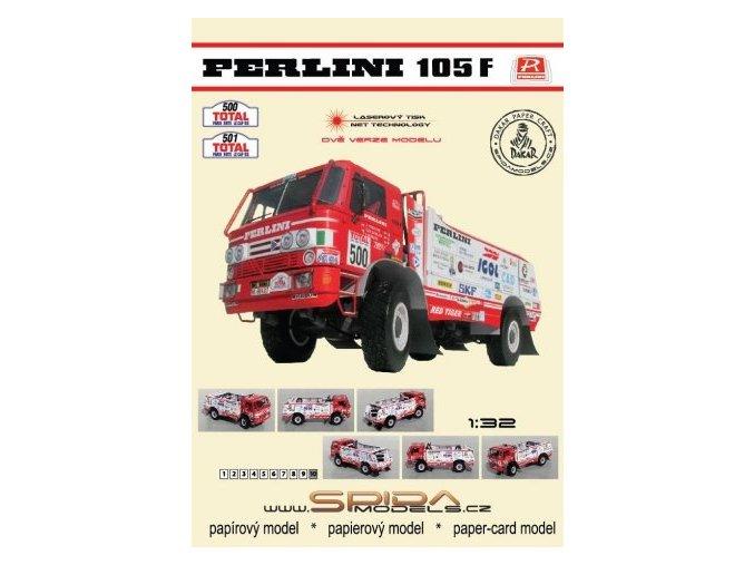 Perlini 105F - Rally Paris - Sirte - Le Cap 1992 [500] [501]