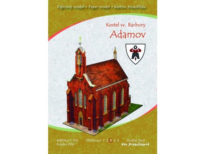 Adamov - kostel sv. Barbory