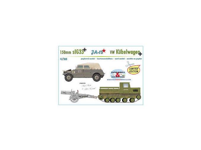 JA-12 + 150mm sIG33 + VW Kübelwagen 82