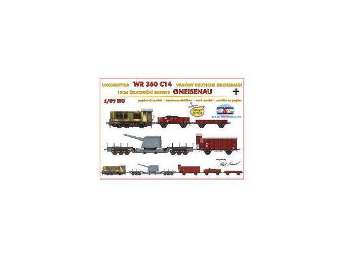 WR 360 C14, Gneisenau