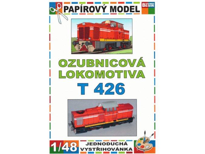T 426 - Rakušanka - ozubnicová lokomotiva ř. 715