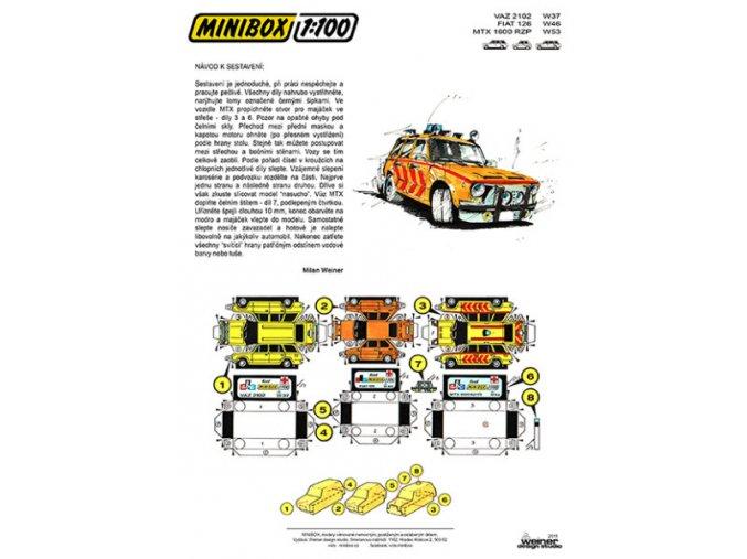 VAZ 2102, Fiat 126, MTX 1600 RZP