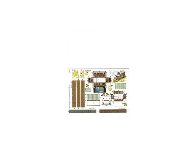 Jachtclub Podskalí + ploty - zděný + plaňkový + pletivový